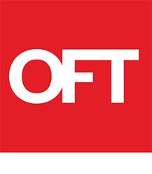 Office of Fair Trading White Logo